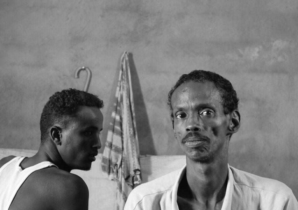 Bild von zwei Menschen aus dem Kurzfilm Life On The Horn